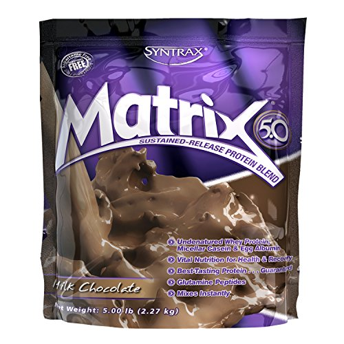Syntrax Matrix 5, Milk Chocolate Powder, 5 Pounds Matrix Chocolate