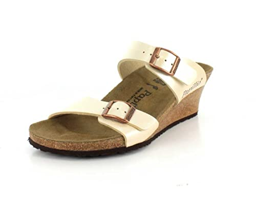 48e5256a6d31 Birkenstock Women s Dorothy Graceful Pearl White Birko-Flor Sandal  Buy  Online at Low Prices in India - Amazon.in