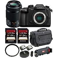 Panasonic DC-GH5KBODY 4K Mirrorless Camera w/ 45-175mm Lens & Accessory Bundle