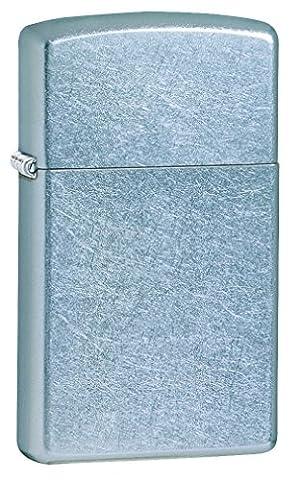 Zippo Slim Street Chrome Pocket Lighter - Istruzione Caso