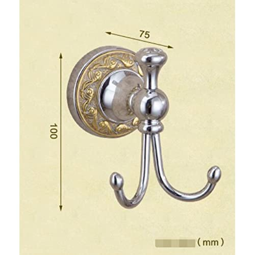 Brass coat hook/Pure copper carved wall hanging/coat and hat hook -B 60%OFF