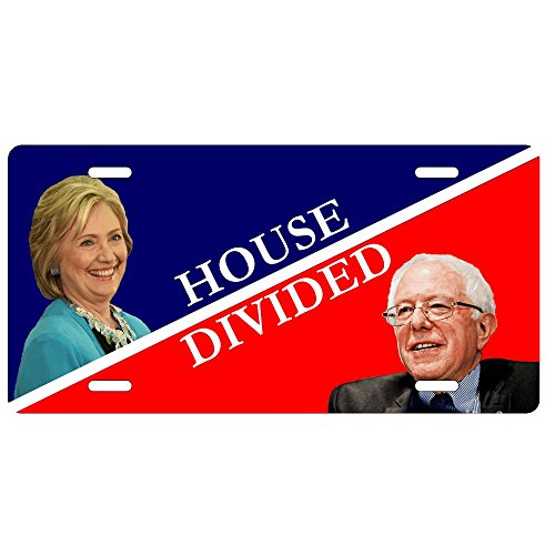 Hillary and Bernie House Divided License ()