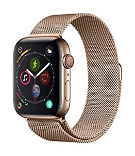 Apple Watch Series 4 (GPS + Cellular, 44mm) - Gold Stainless Steel Case with Gold Milanese Loop (B07HRBKSP5) | Amazon price tracker / tracking, Amazon price history charts, Amazon price watches, Amazon price drop alerts