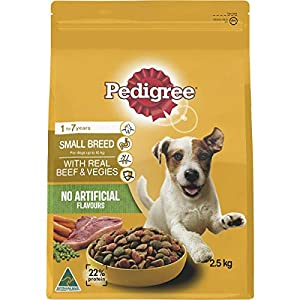 Pedigree Small Breed Real Beef & Vegies Dog Food 2.5 kg 1 Pack Medium Click on image for further info.
