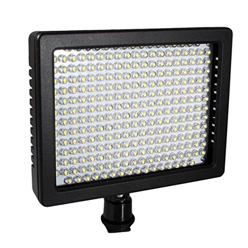 Gift ! WensLTD 260 LED Video Light For Canon Nikon Pentax DSLR Camera Video Camcorder