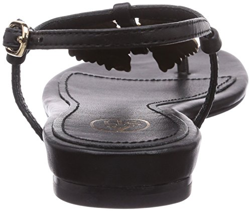 Ash OLYMPE - Sandalias de piel para mujer negro - Schwarz (black 1000)