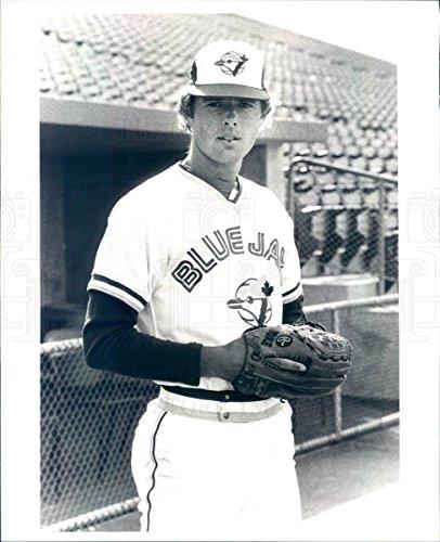 1980 Press Photo MLB Toronto Blue Jays Pitcher Balor Moore - rkf13343 (Jays Blue Pitchers Toronto)