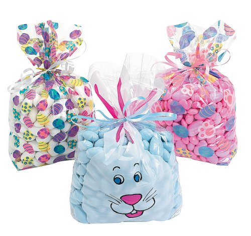 Assorted Easter Bags 36 Pack