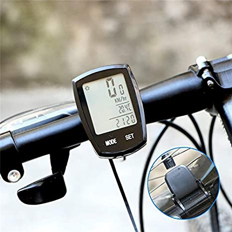 Ordenador de bicicleta ThorFire impermeable bicicleta velocímetro ...