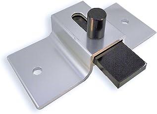 Surface Mounted Aluminum Slide Latch For Restroom Doors - Brite Dip Finish - 3-1  sc 1 st  Amazon.com & Amazon.com: Bathroom Doors u0026 Partitions - Commercial Doors ...