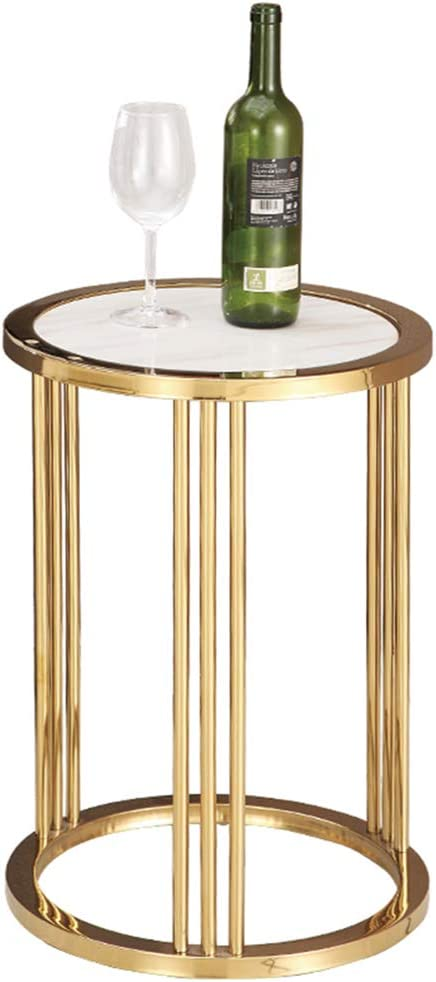 Sofá postmoderno, mesa auxiliar, mármol, dorado, sala de estar ...