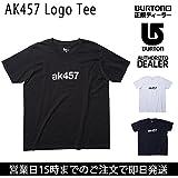 (バートン)BURTON 2016 Tシャツ AK457 Logo Tee BLACK/WHITE/NAVY 17187100 btn-1781