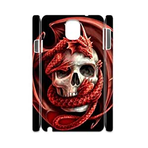 case Of Red Dragon 3D Bumper Plastic customized case For samsung galaxy note 3 N9000