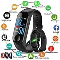KDENTERPRISE M3 Bluetooth Smart Health/Fitness Band Compatible for All Device