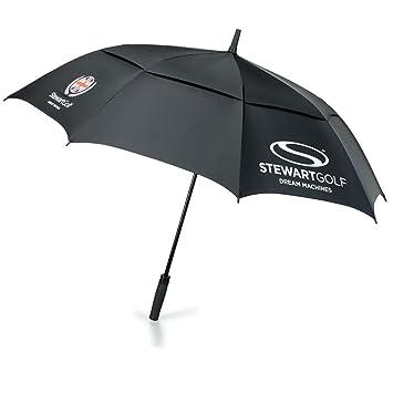 Stewart Golf JW-S01UMB - Paraguas automático para golf, color negro