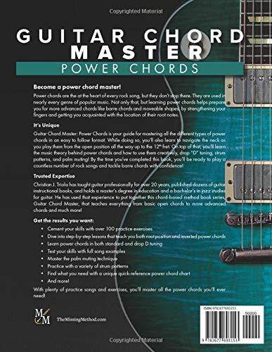 Guitar Chord Master: Power Chords: Amazon.es: Triola, Christian J ...