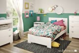 South Shore Reevo Bed & Headboard Set, Twin