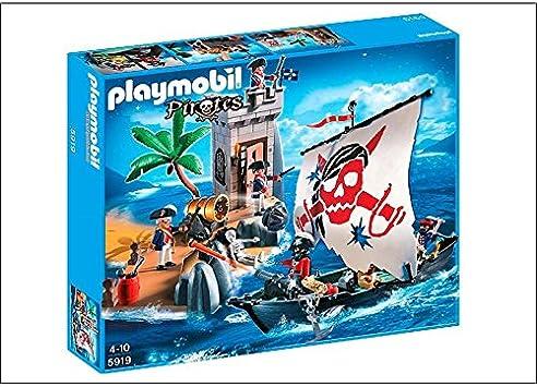 PLAYMOBIL - Set Bastión Piratas - 5919: Amazon.es: Juguetes y juegos