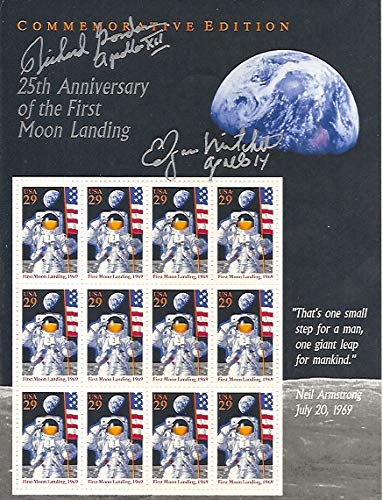 Postage Stamps Commemorative Edition 25th Anniversary of the First Moon Landing