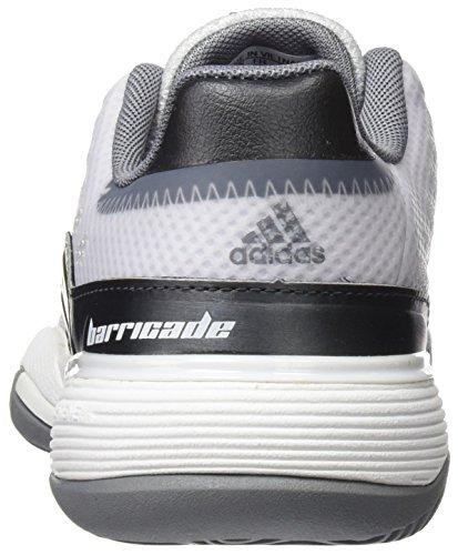 adidas Barricade 2016 Xj, Zapatillas de Tenis Unisex Niños Blanco (Ftwbla/grpudg/gris)