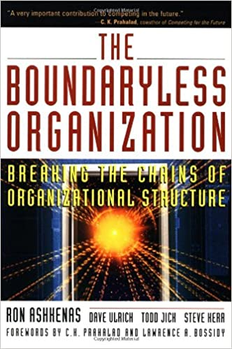 jack welch boundaryless organization
