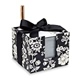 "Vera Bradley Women's Notecube, Midnight Floral,Black,3.75"" x 3.75"""
