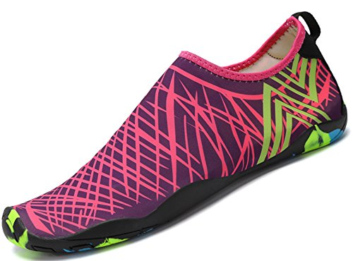 Roja de Saguaro para Shoes Resaca Calcetines la Yoga la 4 acuático de Nadada Playa Descalzo Rosa de Skin la de Aqua rYrpq7Hw