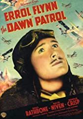 Dawn Patrol, The (1938) (DVD)Errol Flynn and David Niven star as roustabout French Corp fighter pilots who come face-to-face with the harsh realities of war. Basil Rathbone is outstanding as the Squadron Commander.]]>The Dawn Patrol is a b...