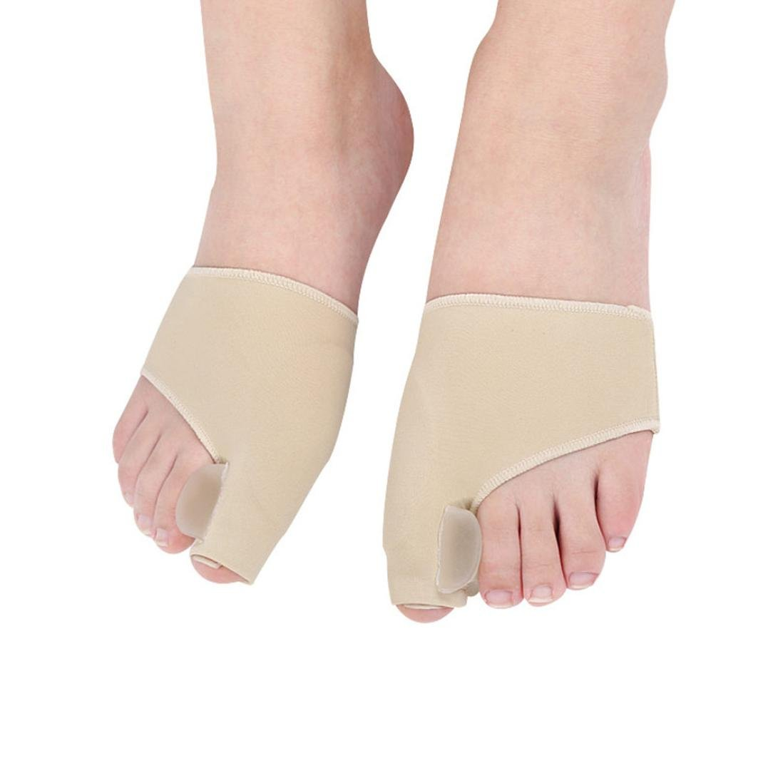Alonea union Corrector And Bunion Relief Sleeve - Treat Pain In Hallux Valgus, Big Toe Joint, Hammer Toe, Toe Separators Spacers Straighteners Splint Aid Surgery Treatment (Small❤️)