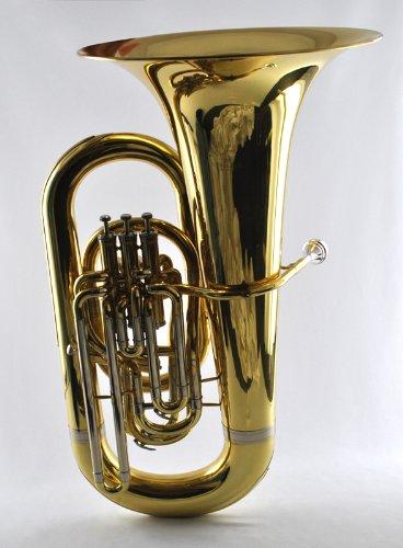 Schiller American Heritage 4-Valve Elite Eb Piston Compensating Tuba by Schiller