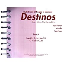 Student Audio CD Program Part 1 fuw Destinos