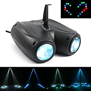 Flashandfocus.com 51ynZ4Zs9OL._SS300_ MFL. RGBW Party Light with 128 LEDs, Auto Pattern-changing & Sound Activated Stage Lighting for DJ, Parties, Clubs, Bars