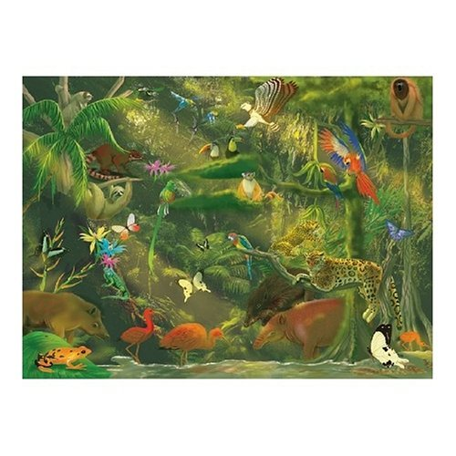 Melissa & Doug 500 Piece Beneath the Canopy Cardboard Jigsaw by Melissa & Doug