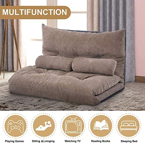 home, kitchen, furniture, living room furniture,  sofas, couches 3 discount Merax Floor Sofa Bed Adjustable Sleeper Bed Sofa in USA