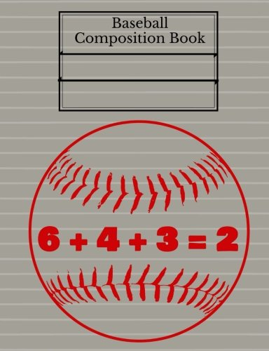 Read Online Baseball Double Play Composition Book - Wide Rule pdf epub