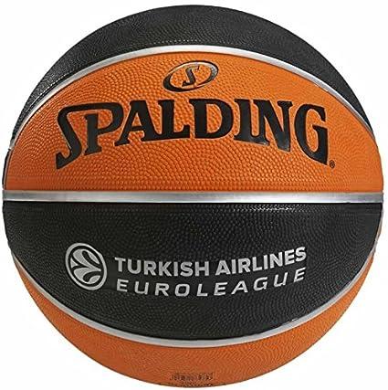 Spalding, Euroleague TF ?150 Sz Rubber Rubber 5, Noir/orange ...