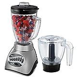 Licuadora Oster 006878-013-000 16 Vel + Procesador De Alimentos - Silver