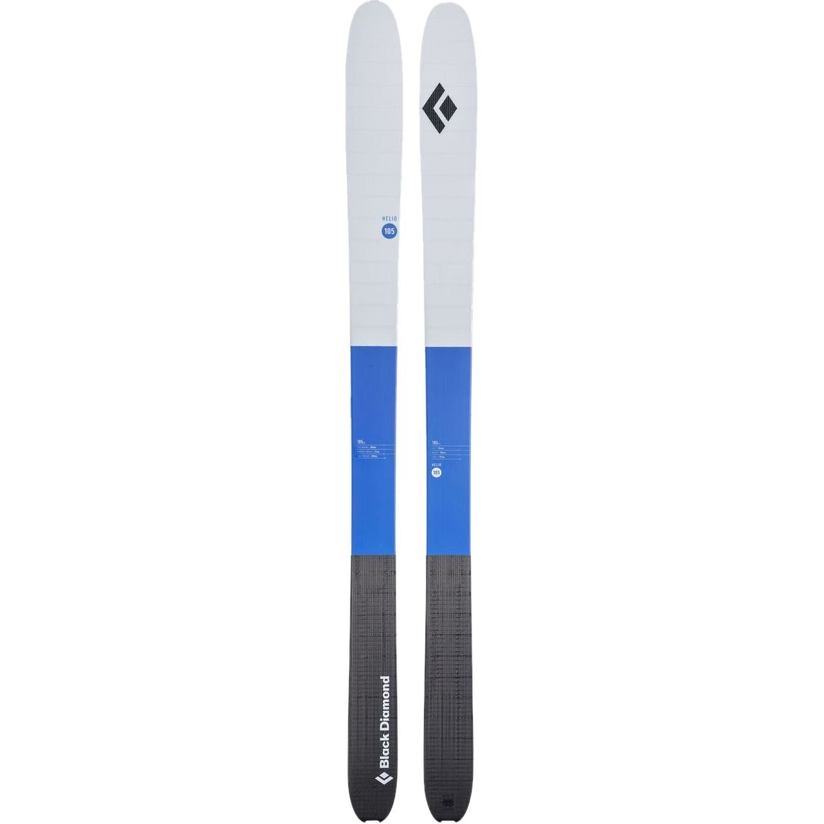BLACK DIAMOND Helio 105 Carbon Ski Pwell Blue 165