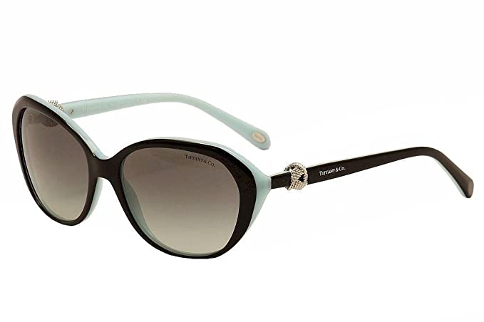 Tiffany & Co. TF4098, Gafas de Sol para Mujer, Negro (Black ...