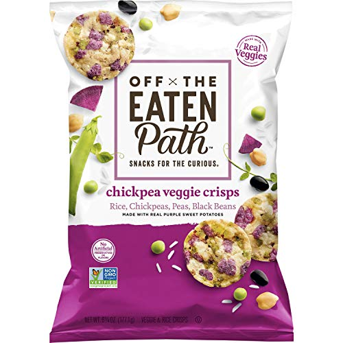 Off the Eaten Path, Chickpea Veggie Crisps, 6.25oz