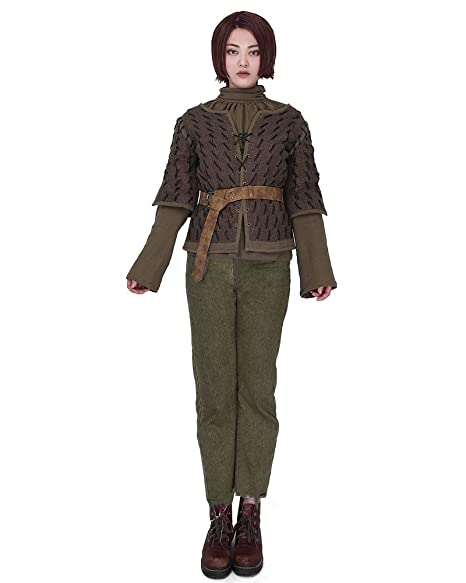 Amazon.com: cosplay. FM Mujer Arya Stark disfraz de cosplay ...