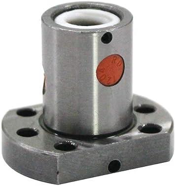 UsongShine SFU1204 150 200 250 300 350 400 450 500 550 600 mm Vis /à bille C7 avec bride 1204 /écrou /à bille simple BK//BF10 300mm