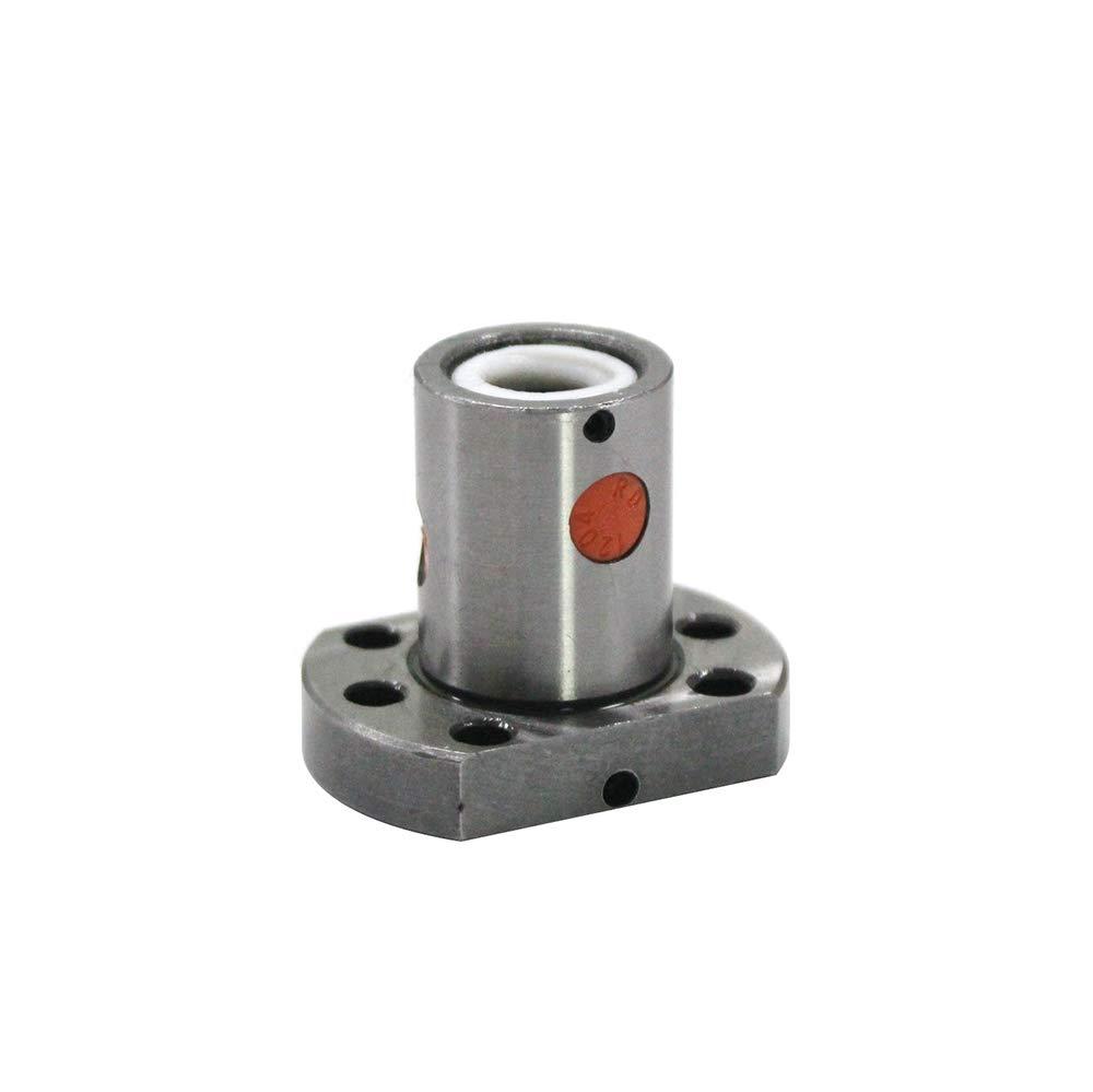 UsongShine SFU1204 150 200 250 300 350 400 450 500 550 600 mm C7 tornillo de bola con 1204 brida tuerca de bola /única BK//BF10 extremo mecanizado
