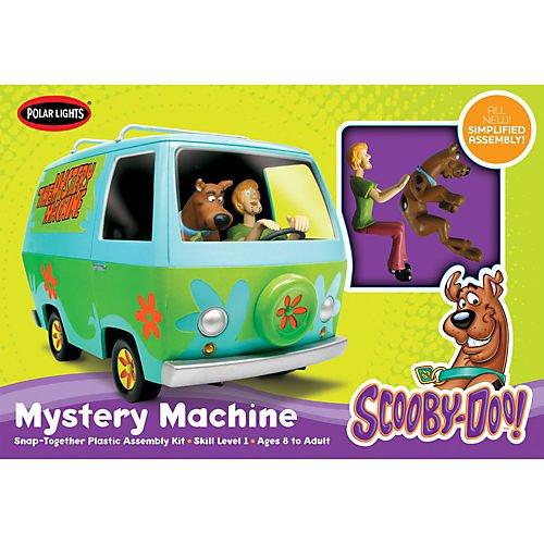 Round 2 Scooby Doo Mystery Machine Snap Model Kit