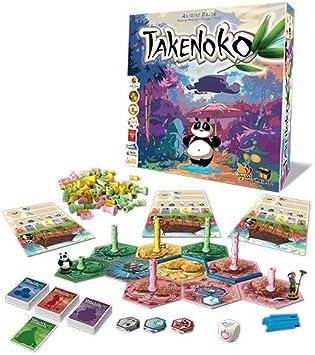 Asmodee- Takenoko Takenoko-8130 Italia, 8130: Asmodee: Amazon.es: Juguetes y juegos