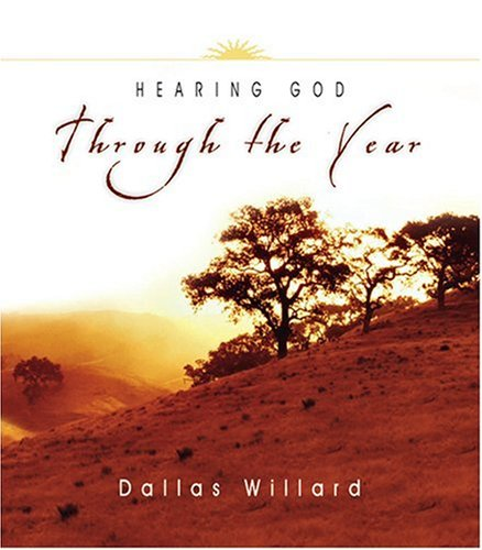 Hearing God Through the Year (Through the Year Devotional Series)