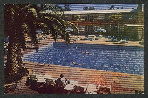 Hollywood Roosevelt Hotel & Promenade Los Angeles CA postcard - Promenade Angeles Los