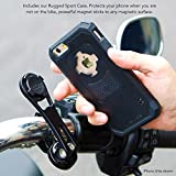 Rokform [iPhone 6/6s] Pro Series Motorcycle Mount kit and Rugged Case, CNC Machined Aluminum, twist lock and magnetic mounting