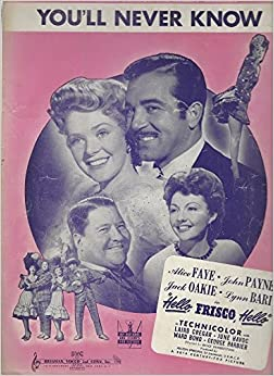 Image result for you'll never know alice faye pictures