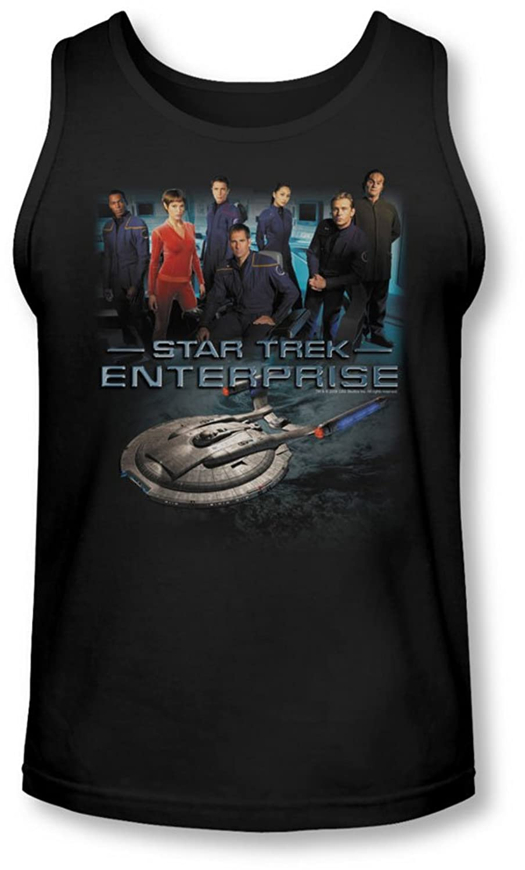 Star Trek - Mens Enterprise Crew Tank-Top